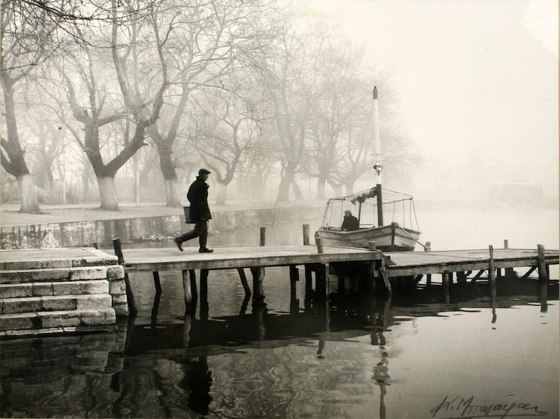 05. Κώστας Μπαλάφας  Λίμνη Ιωαννίνων, 1965