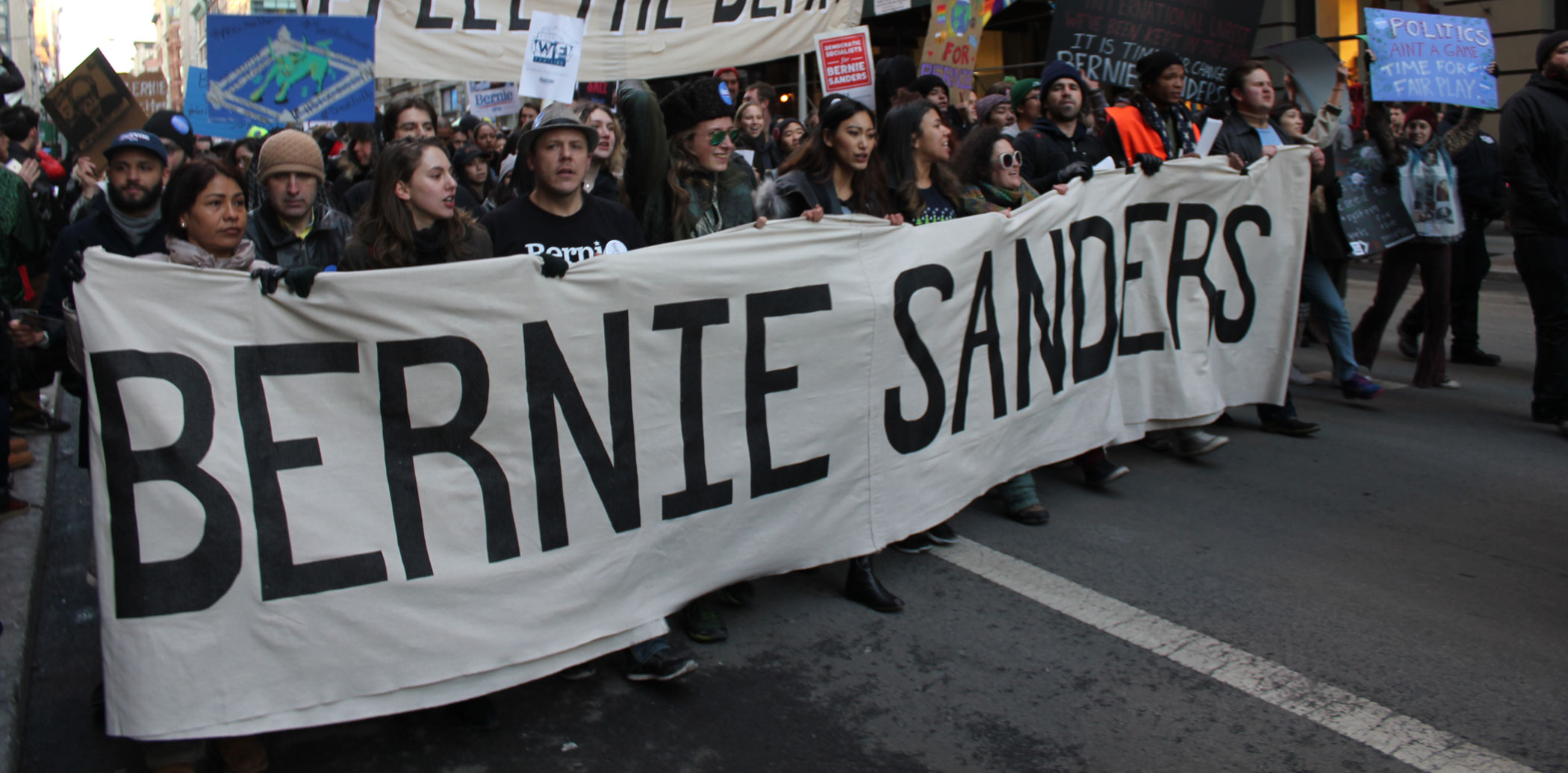 Sanders-NYC-march-1