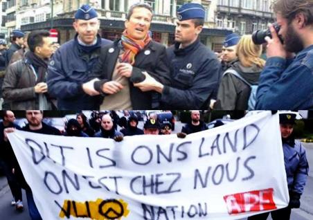 Ο πρόεδρος της Ένωσης Ανθρωπίνων Δικαιωμάτων συλλαμβάνεται, οι φασίστες αφήνονται να διαδηλώσουν.