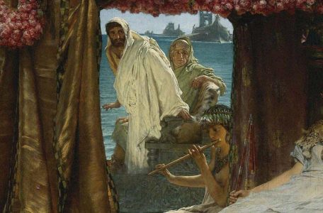 Sir_Lawrence_Alma-Tadema_-_The_Meeting_of_Antony_and_Cleopatra