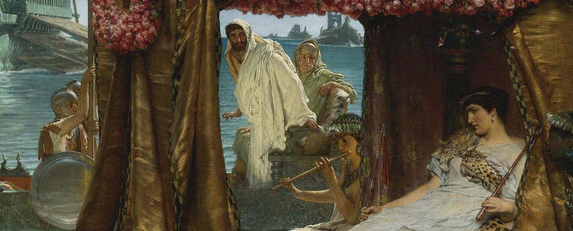 Sir_Lawrence_Alma-Tadema_-_The_Meeting_of_Antony_and_Cleopatra