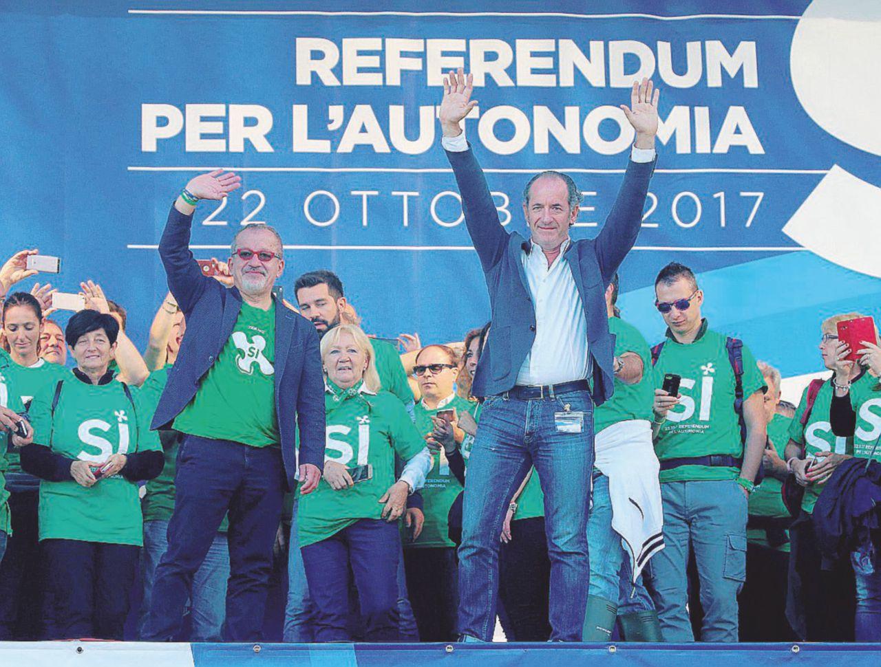 Lega: Maroni-Zaia, coi referendum cambieremo la storia