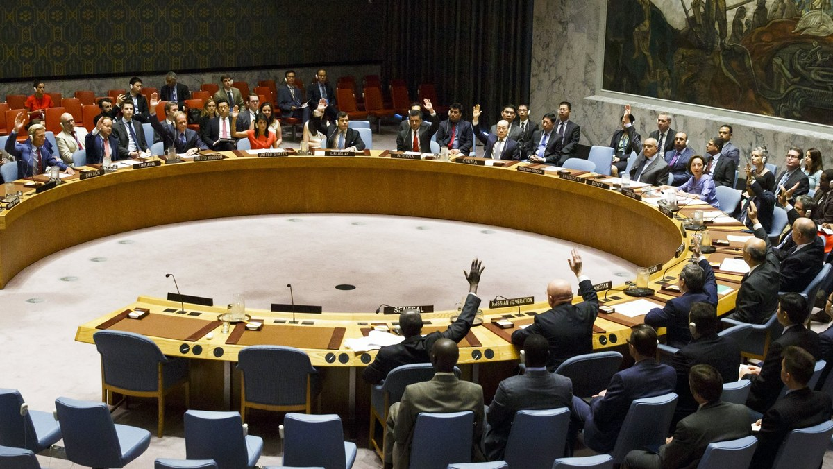 United Nations Security Council Vote on North Korean Sanctions