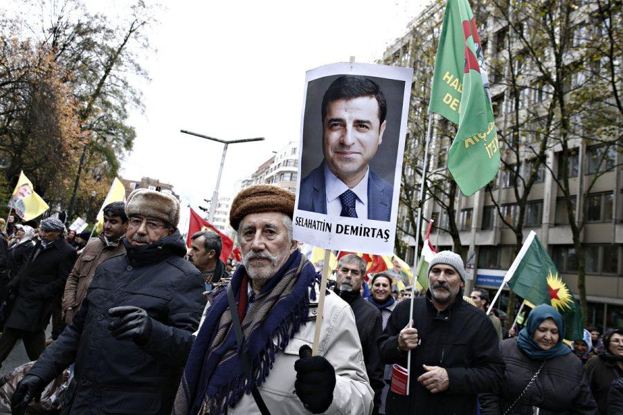 Αλέξανδρος Μιχαηλίδης/SOOC. Από παλαιότερη διαδήλωση στις Βρυξέλλες υπέρ της απελευθέρωσης Ντεμιρτάς