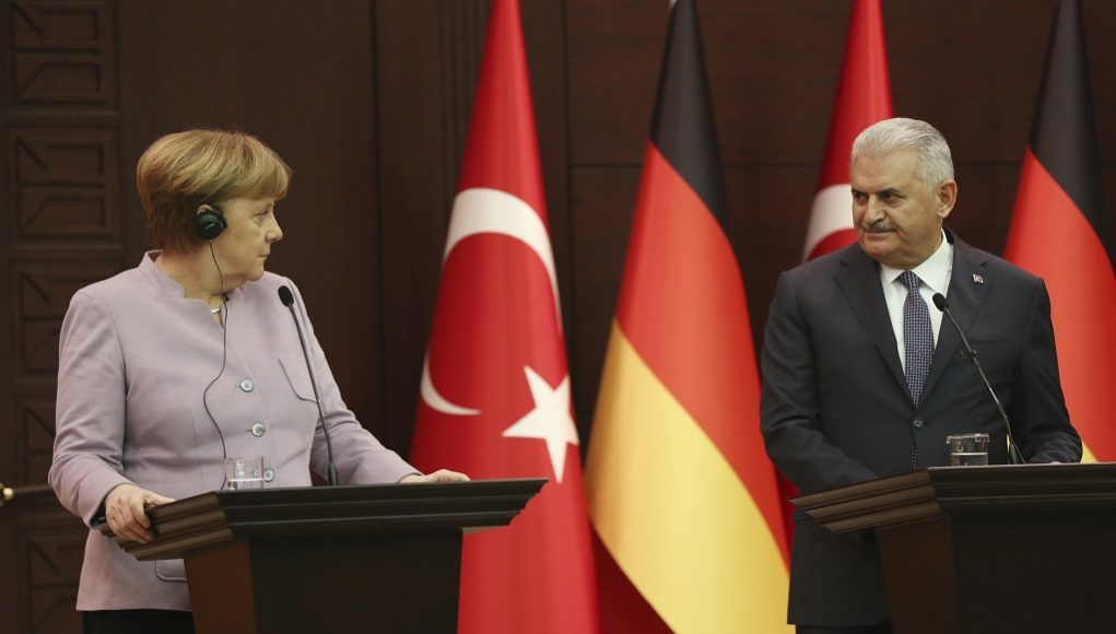 Yildirim, Angela Merkel