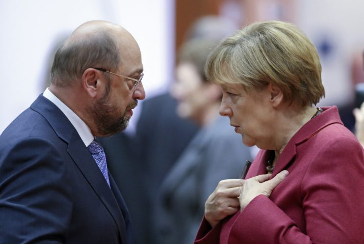 Martin Schulz to take on Angela Merkel in German elections