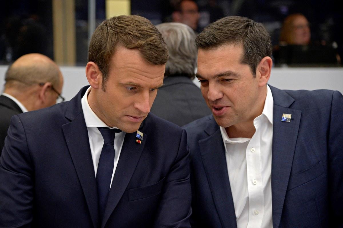 Tsipras Macron
