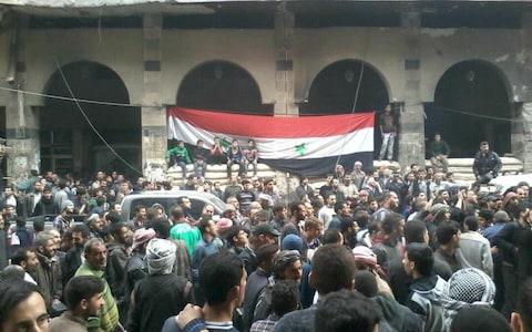 SyriasFlagDouma